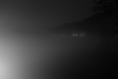 Nightscape with Lights (Land of Mist series), 2018
