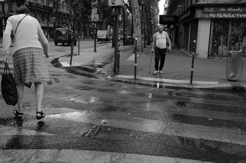 Unititled (Pas La Mienne series) Paris 2018