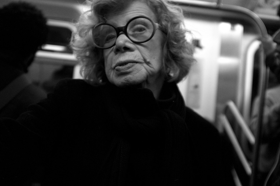 Woman with Glasses. New York City, 2015
