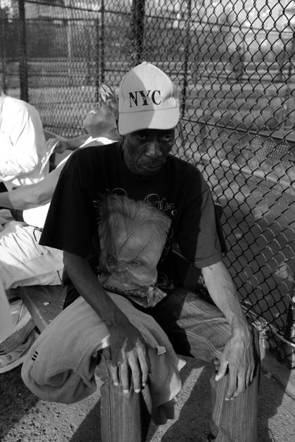 Portrait of a man. New York City, 2016