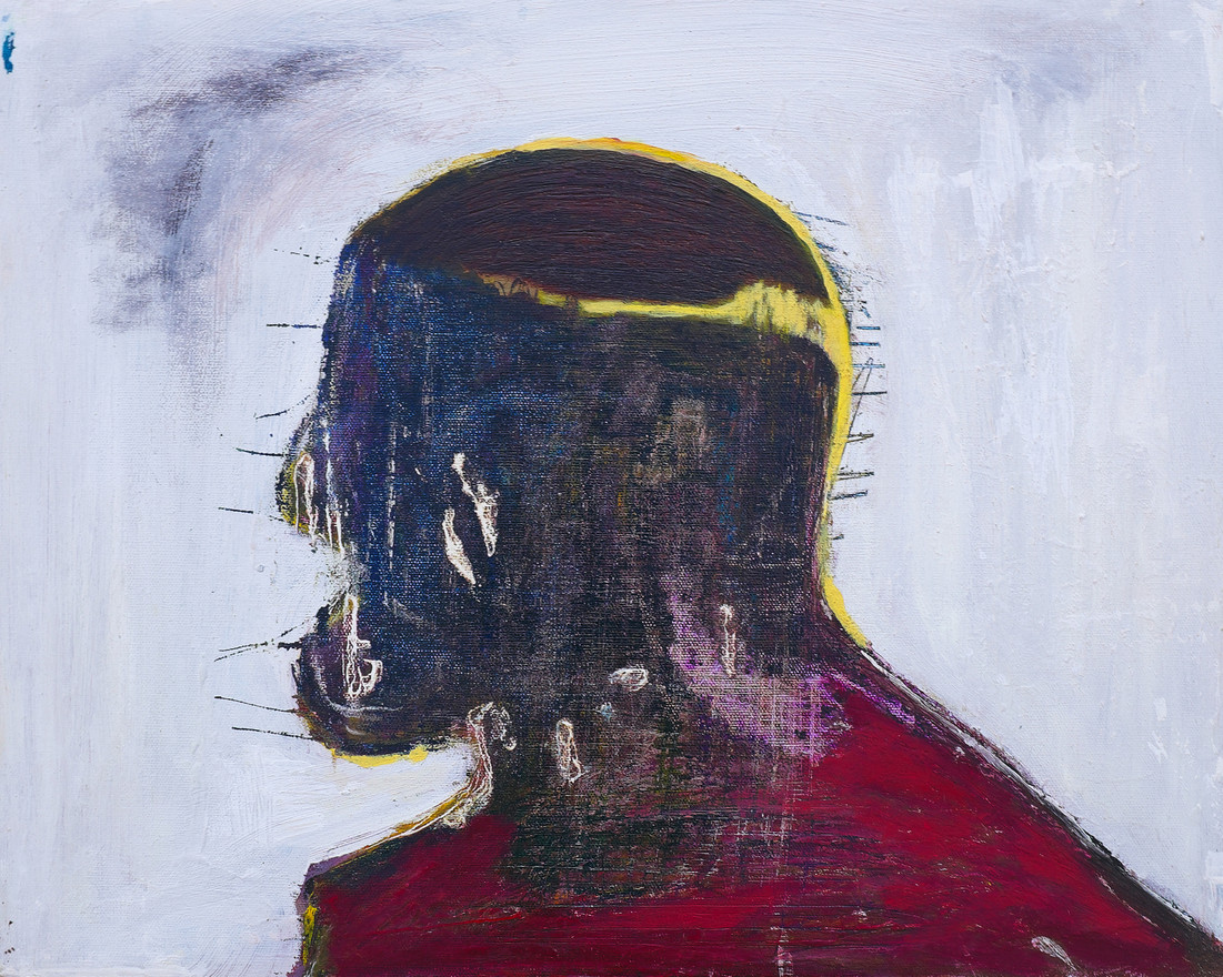 He IV, 2012. Oil on canvas. 16 x 20 inches