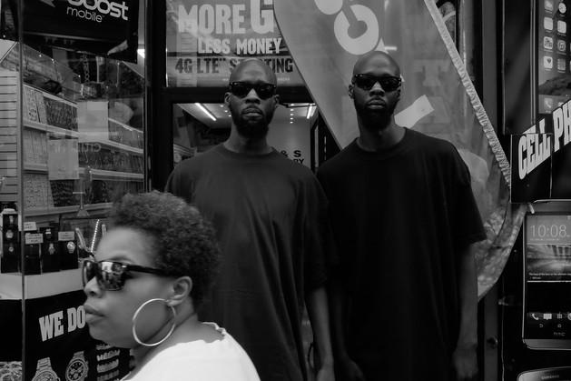 Harlem Twins.  New York City, 2016