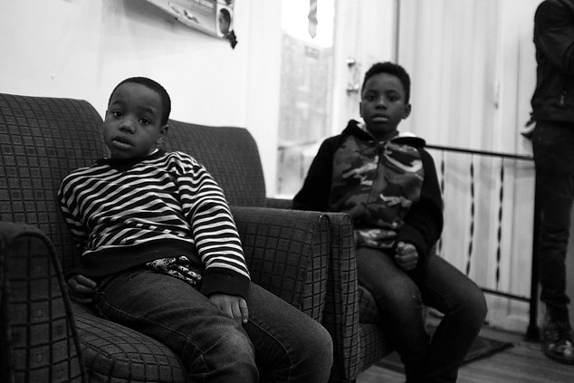 Boys in BarberShop. (No Competition in Confidence series) Baltimore, 2017