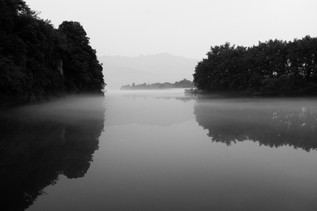 Reflection with Mist (Land of Mist series), 2018