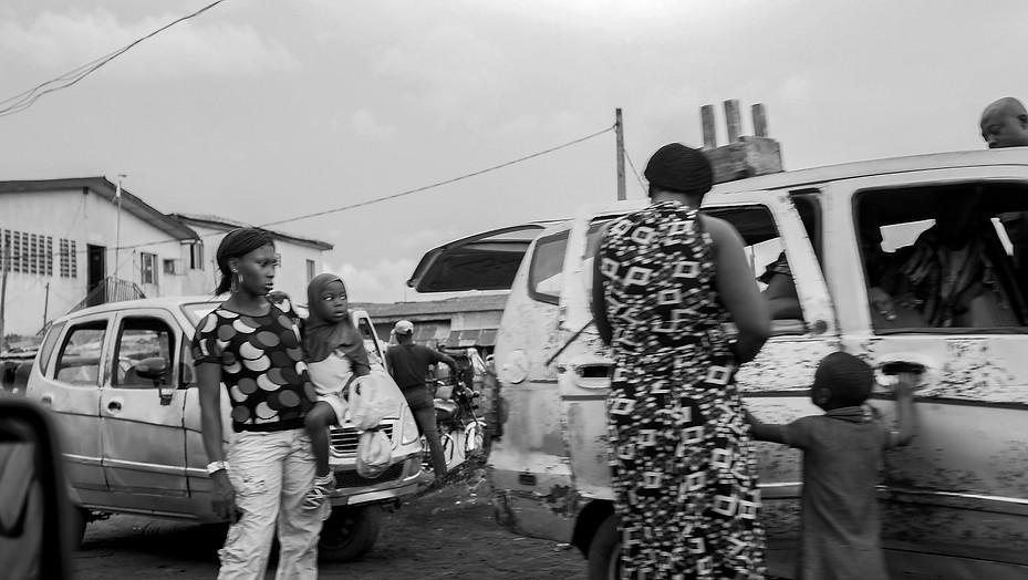 Lagos street, 2014. Lagos, Nigeria