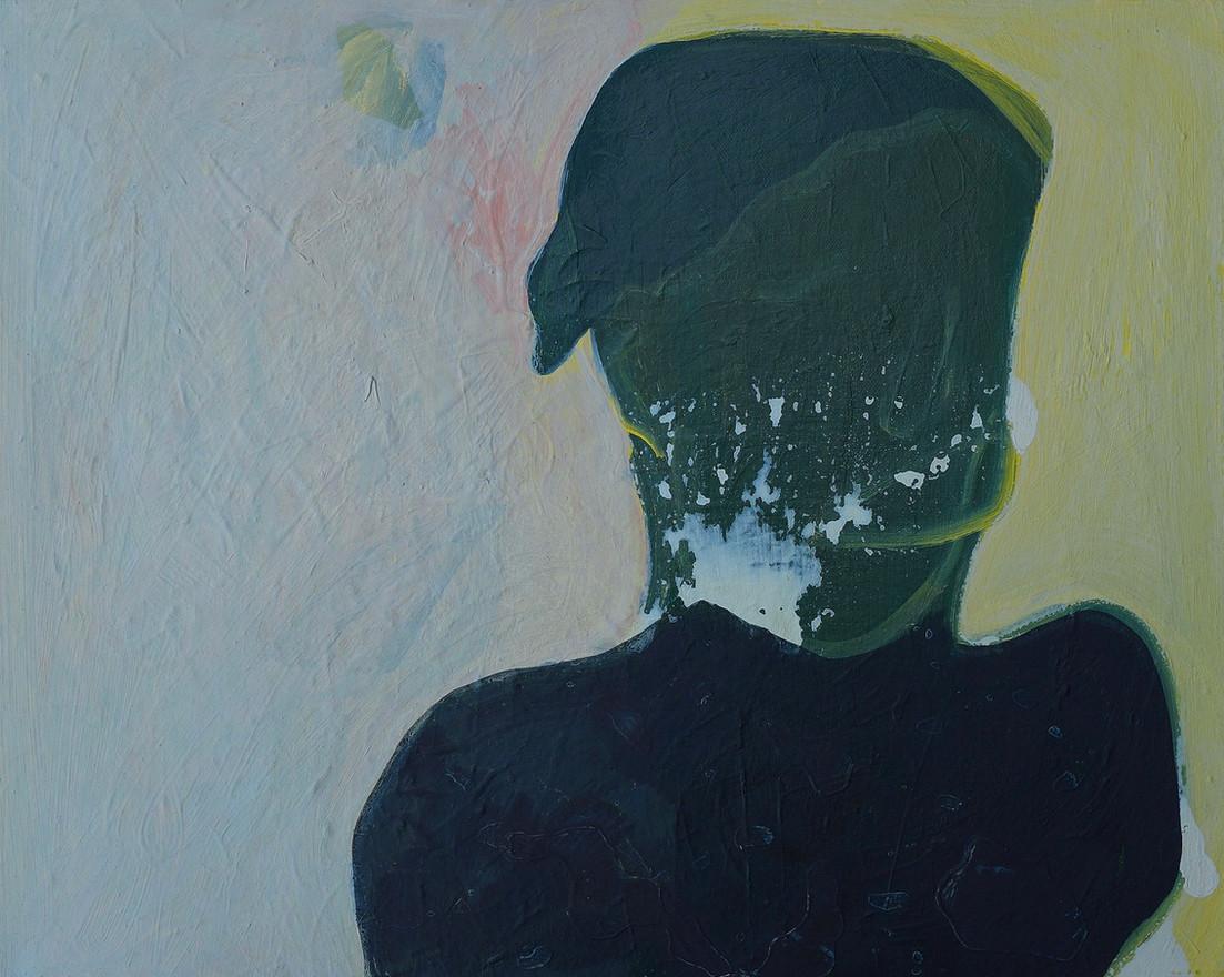 She VI, 2016. Oil on canvas. 16 x 20 inches