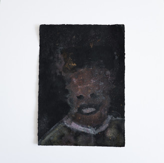 Headspace2018.Acrylic ink& pastel onA3 handmade Paper