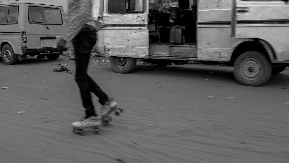 Roller skate, 2014. Lagos, Nigeria