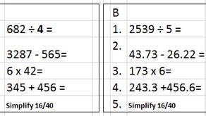 Y6 Maths 1.03.21