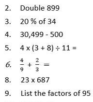 Y6 Maths 09.07.2020