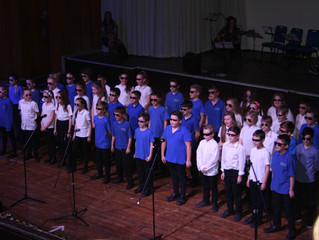 Year 6 Big Sing Exeter Great Hall Concert