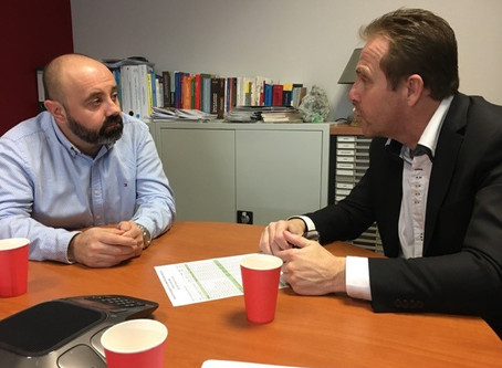 Abesol reçoit la visite du Député Olivier Gaillard
