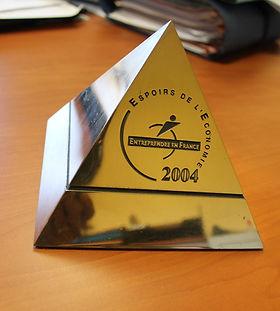Espoirs de l'Economie 2004 décerné à Abesol