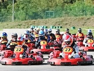 Benoi TP participe  à une journée karting organisée par le Rotary Club d'Alès