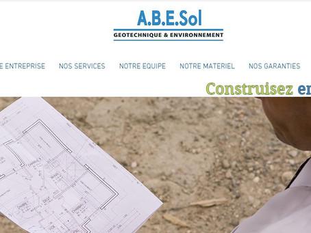 Un nouveau site web