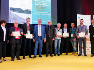 Benoi TP remporte le trophée des TP du Gard 2019 dans la Catégorie « Eau, Assainissement et Environn