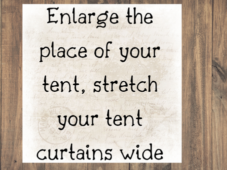 Enlarge the place of your tent, stretch your tent curtains wide