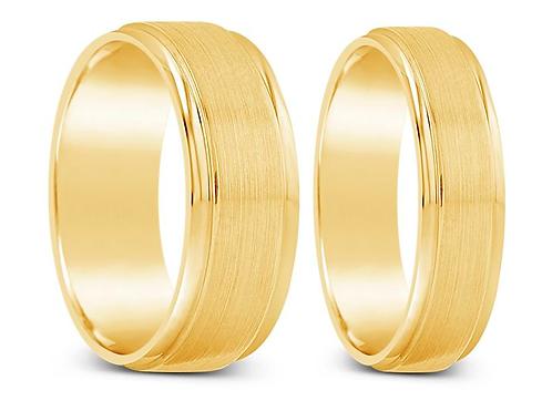 Aros de Oro Amarillo 18k