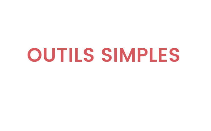 Outils simples 3