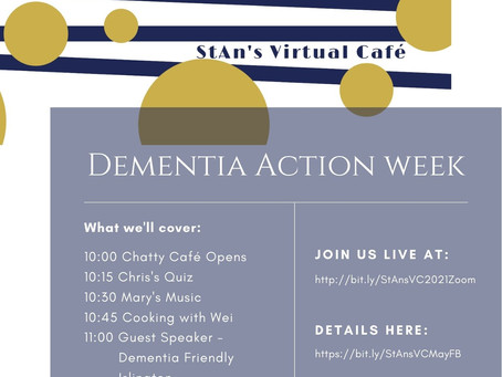 StAn's Virtual Cafe - Take Action! 15th May 2021