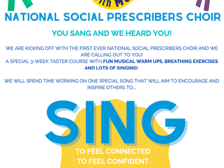 Shout out for Singing Social Prescribers!