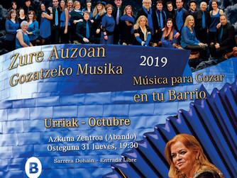 ÚLTIMO CONCIERTO DE BARRIOS AZKUNA ZENTROA