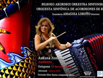 Concierto en Azkuna Zentroa