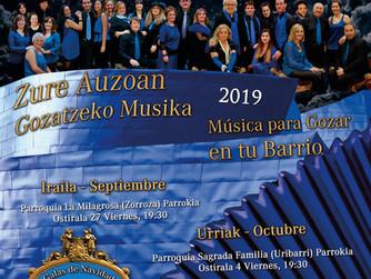 MÚSICA PARA GOZAR EN TU BARRIO 2019