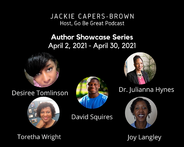 Go Be Great April Author Series Promo Im