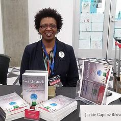 Jackie Brown at Decker Edge Author Showc