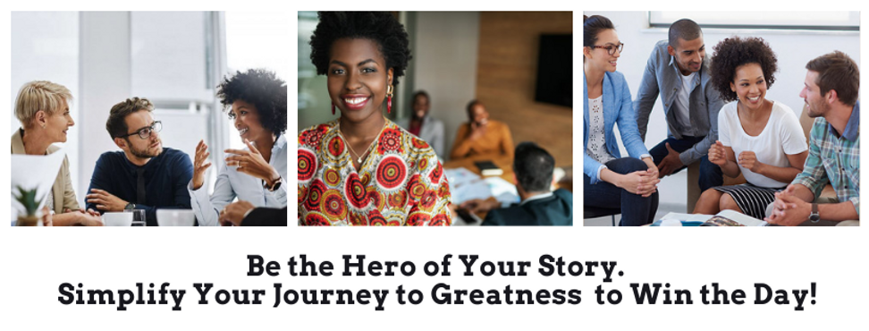 Website Be the Hero Of Your Story Simpli