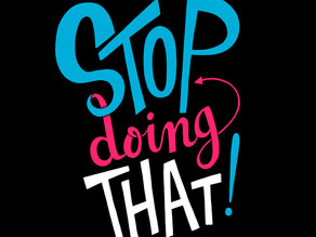 How Knowing What to STOP Doing Will Accelerate Your Leadership Success