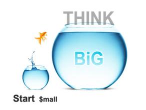 Start Small, Think Big