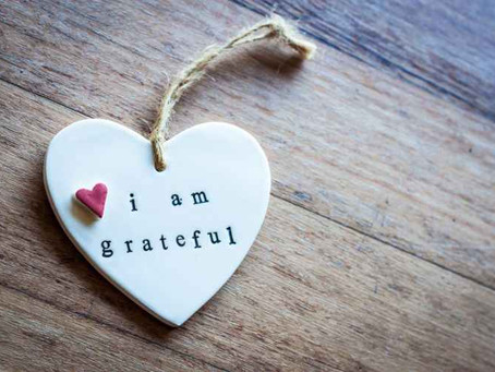 On Gratitude - Part One: Manifesting Grace through Gratitude