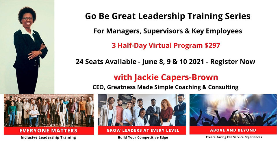 Website Go Be Great Leaership Training S