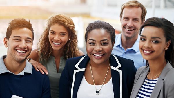 Website diverse workforce for master cla
