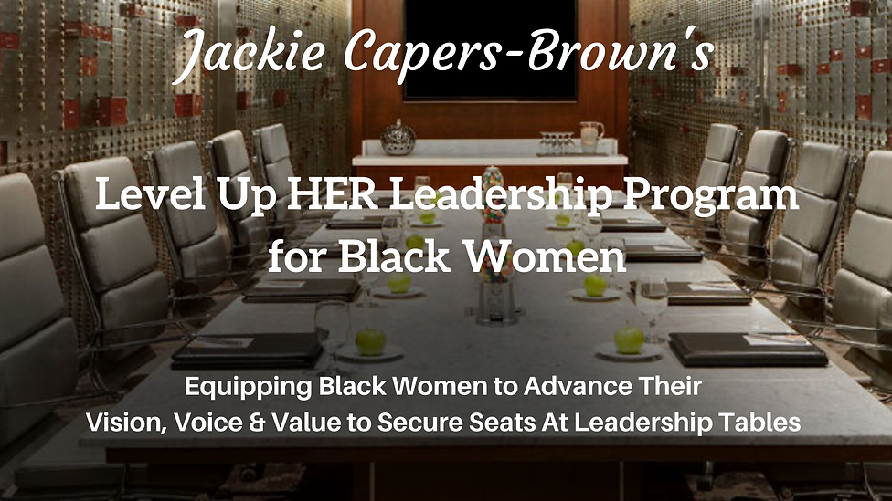 Website Level Up HER Leadership Program
