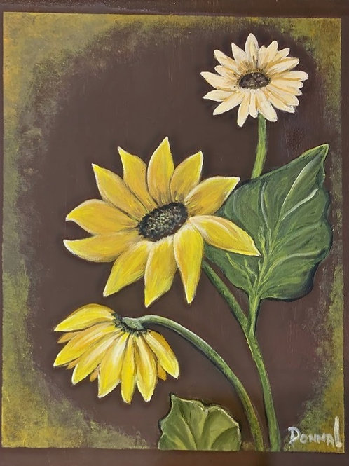 Sunflower Decor #130