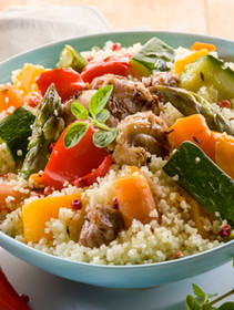 VEGETABLE RICE BOWL (optional proteins and grains)