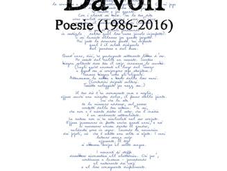 Filippo Davoli, Poesie (1986-2016), intr. di M. Morasso, Transeuropa, Massa 2018