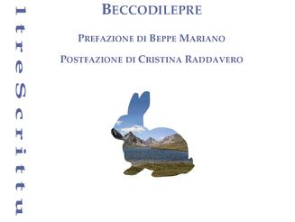 Sergio Gallo, Beccodilepre, Pref. di B. Mariano, Postf. di C. Raddavero, pp. 118, puntoacapo 2018