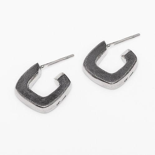 Roughbubble earrings S