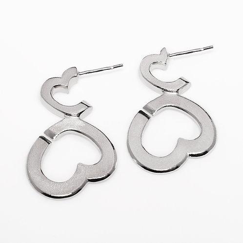 Bubblelove earrings L