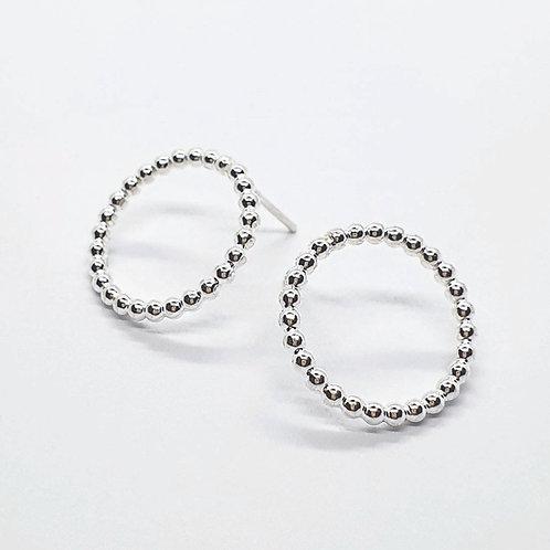 Pebble earrings XL