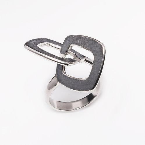Roughbubble ring L