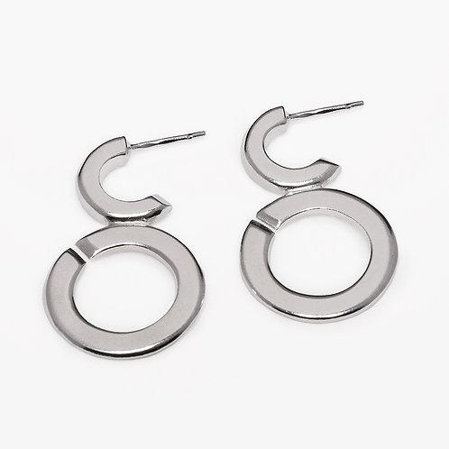 Bubbles earrings L