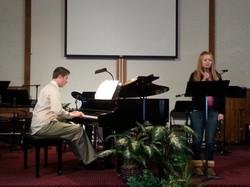 Solo recital Samuel Cross