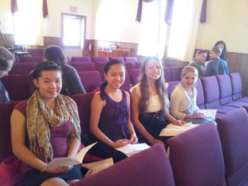 Samara, Ella, Heidi, Nathalie 2013