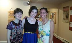 Megan, Ariel and Malia