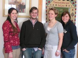 Molly, Ryan, Sarae and Becky